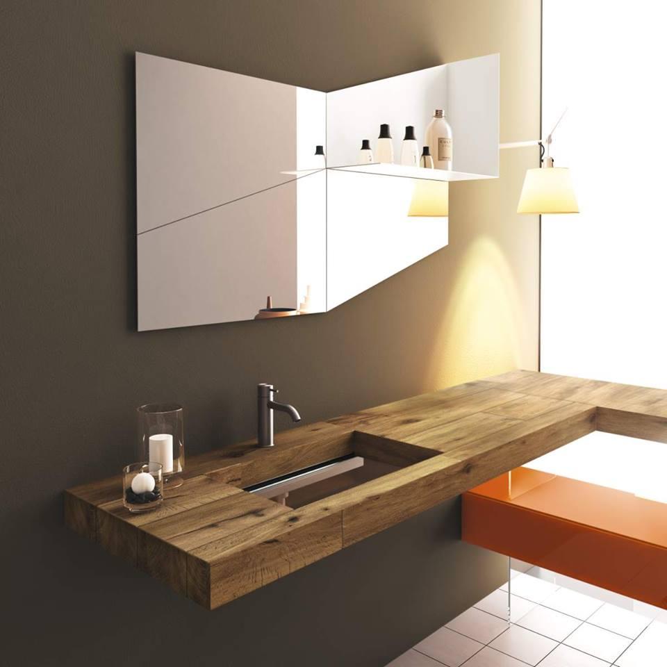 Bandırma Masif Banyo Tezgahı Bandırma Ahşap Banyo